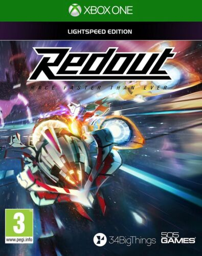 Redout Lightspeed Edition Xbox One NEW & Sealed from UK