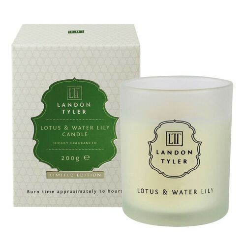 Landon Tyler Limited Edition Lotus /& Water Lily 200g Gift Boxed Candle