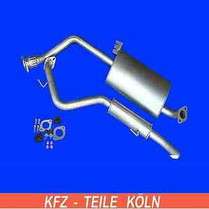 Opel Frontera B 3,2 V6 Endschalldämpfer Endtopf Auspuff Auspuffanlage