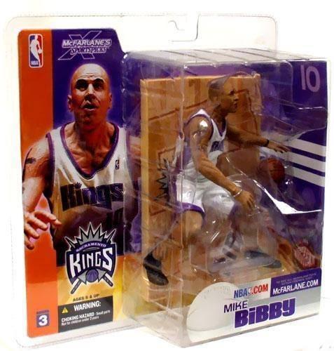"MCFARLANE - NBA SERIES 3 –  MIKE BIBBY - SACRAMENTO KINGS - 6"" FIGURE"