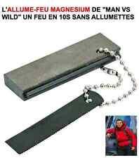 Allume Feu Magnesium Sans Allumette RAID 4X4 HDJ KDJ PATROL LAND JEEP PAJERO