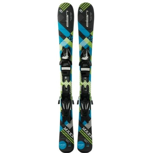 EL 4.5 Black//Blue//Green AFDEJZ18// Skis und Stöcke Elan Maxx QS