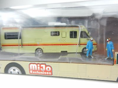 1:64 GreenLight *BREAKING BAD* 1986 Fleetwood Bounder RV Camper *CHASE* FIGURES