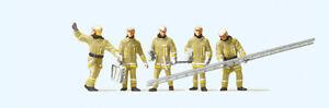 Preiser-10770-Pompiers-IN-Moderne-Vetement-D-039-Exploitation-Figurenpackung-Ho-Neu