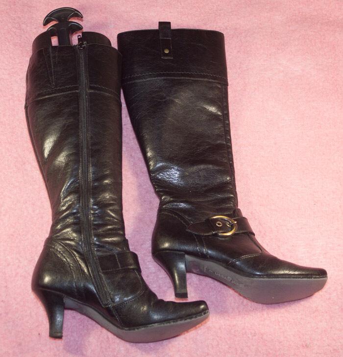 Paul GREEN ♥ Stiefel ♥ Gr. 4 / 37 ♥ ♥ *TOP* ♥ schlicht ♥ 37 echtes Leder ♥ Handemade 67b6bc
