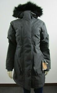 NWT-Womens-The-North-Face-TNF-Downtown-Parka-Warm-Down-Winter-Jacket-Grey