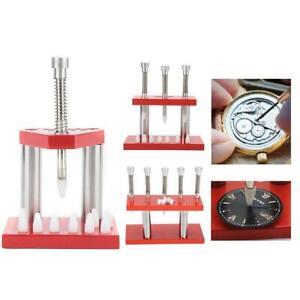 1-3-5-Koepfe-Uhrmacher-039-s-watch-hand-Presser-Pusher-Tools-Hand-Monteur-Presse-Sets