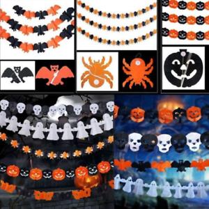 Halloween-Pumpkin-Spider-Garland-Hanging-Ghost-Paper-Festive-Home-Party-Decor