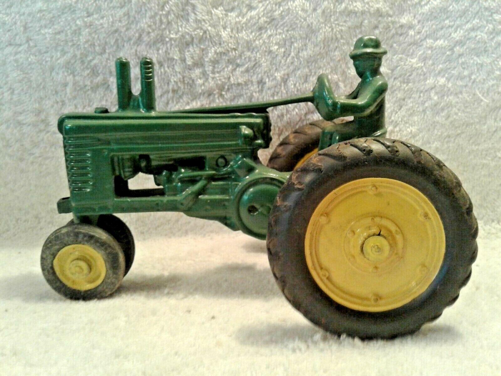 Vintage 1946 ERTL John Deere Modèle Un Conducteur de Tracteur échelle 1 20 Open VOLANT nf