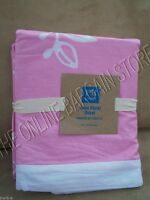 Pottery Barn Teen Hana Floral Blooms flower Bed Dorm Duvet Cover Twin Pink