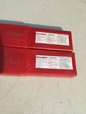 Lot Of 2 Inweld 6010 532 10ibs Stick Welding Electrode 6010 Rods2 Packs 20lb