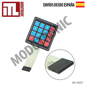 Matrix-Teclado-Membrana-4x4-16-teclas-Keypad-Keyboard-Key-ARDUINO