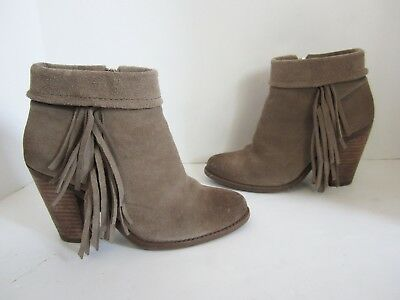 Jessica Simpson Callaghan Taupe Suede
