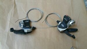 Shimano Deore LX Mega 9 Speed 3x9 Trigger Shifters SL-M570 Japan