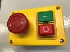 Iniciar detener Interruptor 220/240v NVR interruptor de seguridad para máquinas de taller