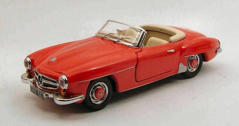 Mercedes Benz 190SL 1955 Röd 1 43 Förlaga RIO4358 RIO