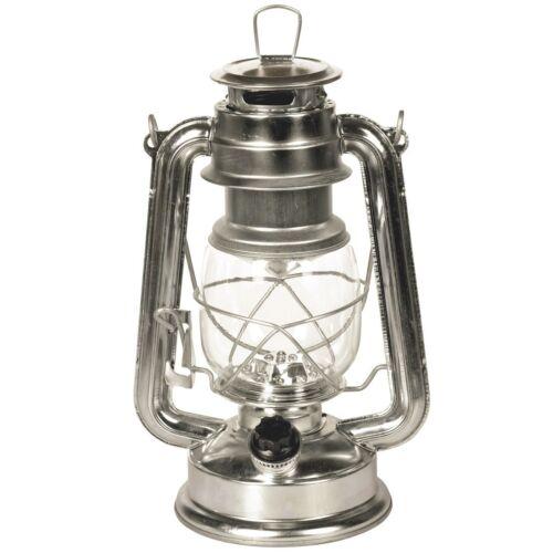 silber Heitech Rustikale Laterne mit 15 LEDs Batterien LED-Angellampe inkl