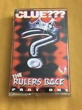 DJ CLUE The Rulers Back Pt.1 CLASSIC 90s Hip Hop NYC Cassette MIXTAPE