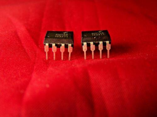 Photodarlington Fairchild 6N138  8Pin High Speed Optocoupler 2pcs.