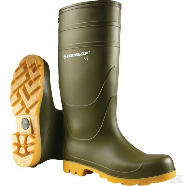 Genuine Dunlop Universal Boots Green 55320 Free Postage