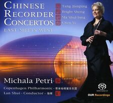 Michala Petri - Chinese Recorder Concertos: East Meets West [New SACD]