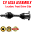 FRONT LEFT CV Axle Shaft For FORD EXPEDITION SUPER DUTY F-150 F-250