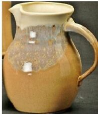 Clay In Motion Pottery Pitcher  Desert Sand