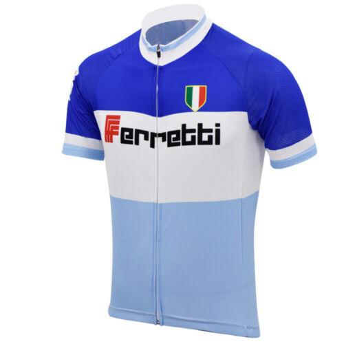 Retro Team Ferretti Vintage Classic Cycling Jersey