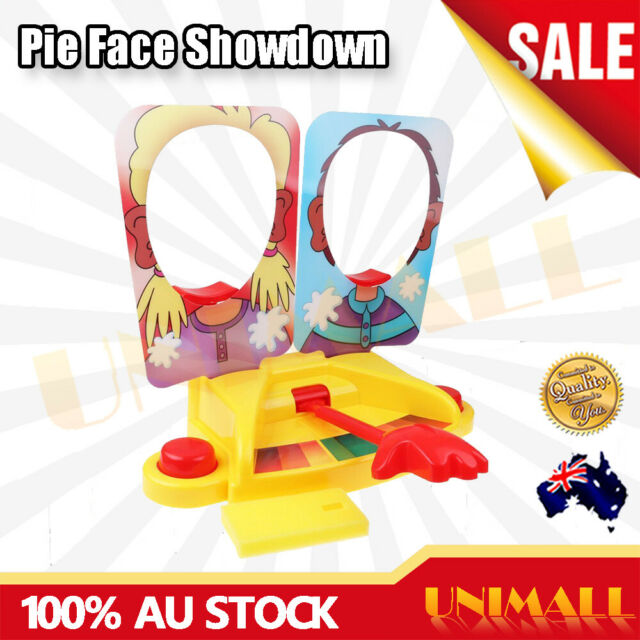 OZ New Pie Face Showdown Game Family Fun Filled Rocket Board Party Game Gift Toy