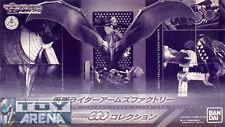 Masked Kamen Rider Arms Factory Set of 3 Tatoba Putotyra Birth Mascolle Exclusiv