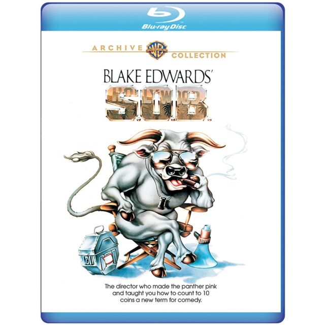 S.O.B Blake Edwards, Joan Collins) - BLU-RAY - Region free - Sellado