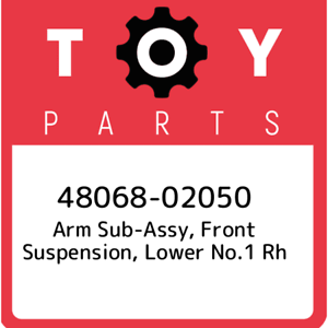 lower no.1 rh 4806802050 48068-02050 Toyota Arm sub-assy front suspension New