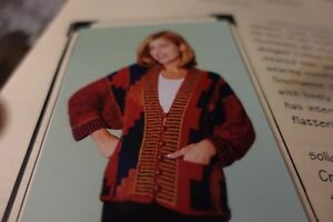 Knit One Crochet Too Knitting Pattern Dofuko Tsuna Jacket 35 50