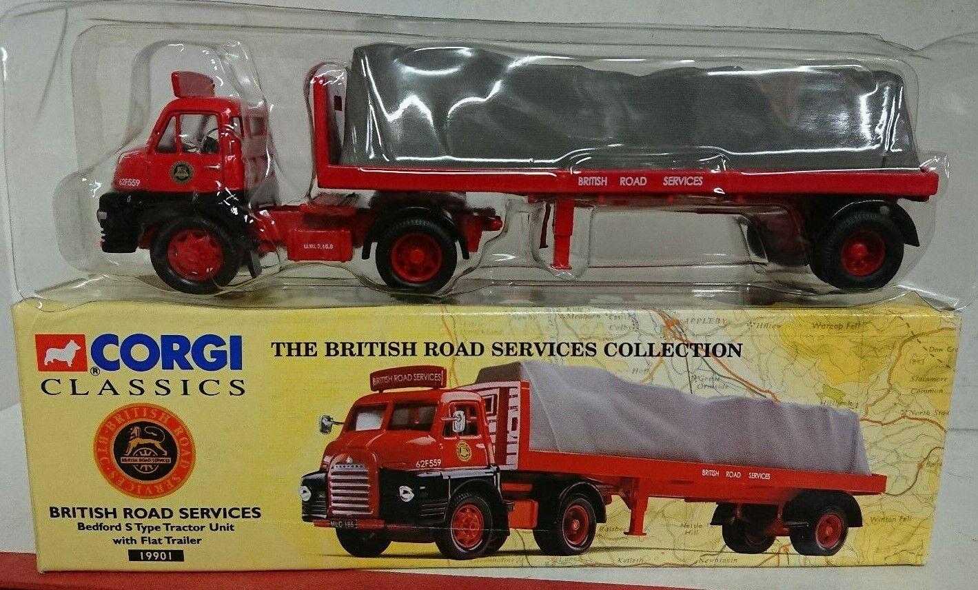 Corgi Classics 19901 Bedford S Type & Flat Trailer BRS Ltd Edition No.2