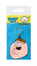 FAMILY GUY PETER FACE RUBBER KEYRING NEW 100% OFFICIAL MERCHANDISE PYRAMID