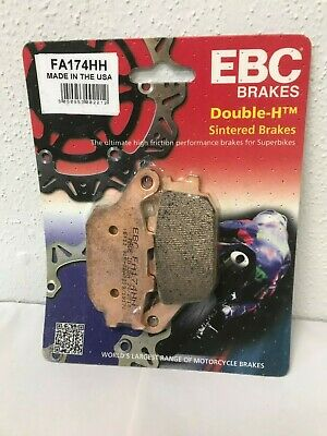 Yamaha FZ1 2006 to 2015 Fazer EBC Sintered FRONT and REAR Disc Brake Pads