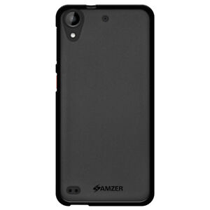 bf7b7586fde Details about AMZER BLACK PUDDING TPU SKIN FIT BACK CASE COVER FOR HTC  DESIRE 530 630