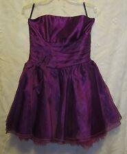 Women's Juniors Jessica McClintock Gunne Sax Formal Dress Fuchsia Size 11 NWOT