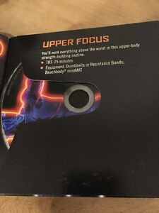 Focus T25 Beta UPPER FOCUS - 1 DVD Only - FREE SHIPPING
