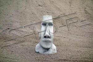 Détails sur Décoration de Jardin Moai Terrasse Pierre Figurines Déco Statue  Sculpture 101218