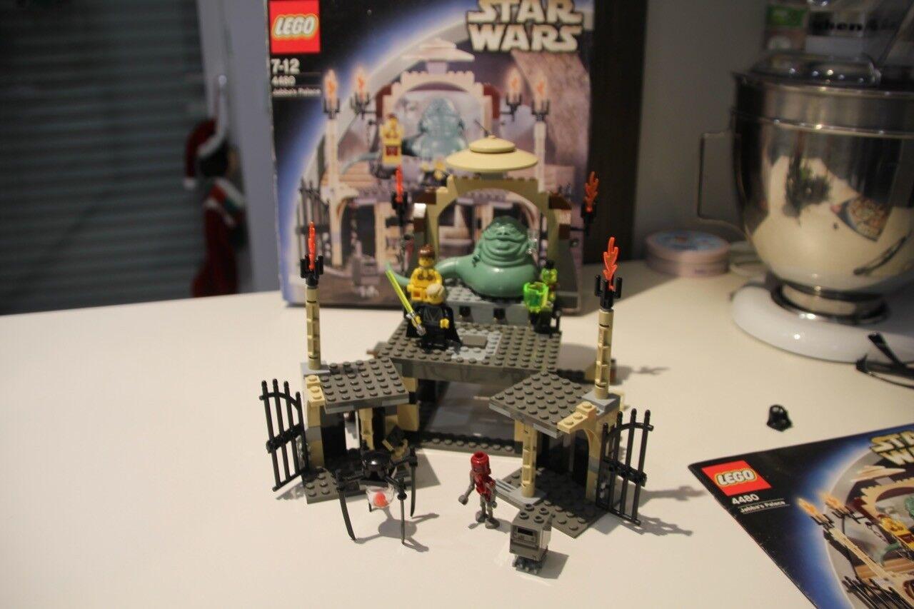 Lego  4480 Star Wars Jabba´s Palast unbespielt aus Sammlung mit OVP