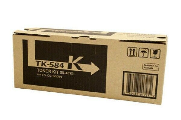 GENUINE Kyocera TK-584 Black Toner Cartridge