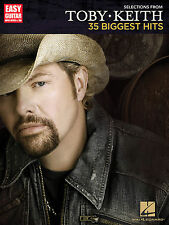 Toby Keith 35 Biggest Hits! Easy Guitar With Notes & Tab Book NEW!