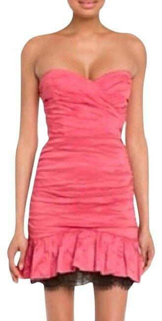 BCBG Maxazria Sweetheart Dress With Exposed Crinoline Size 10, Retail Price