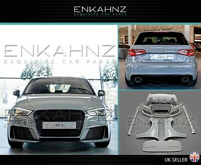 Genuine Audi A3 Saloon 2017 - onwards 2013 - onwards RS3 Saloon