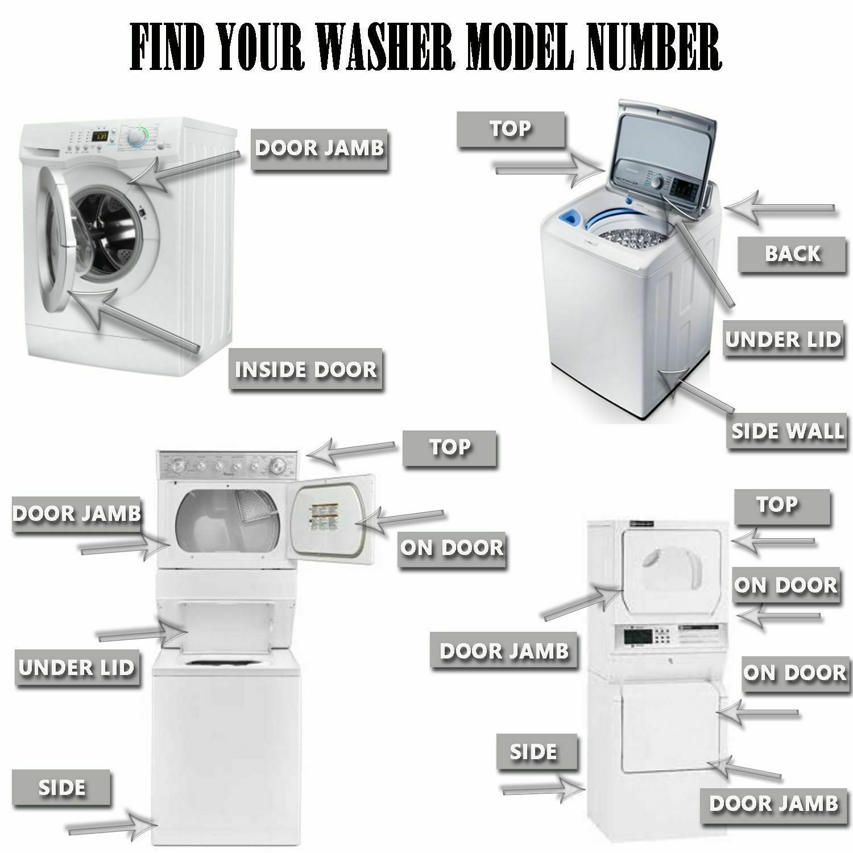 WARRANTY Bosch 00667487 Washer Door Bellow 667487 AP4324628 1487488 PS3481764