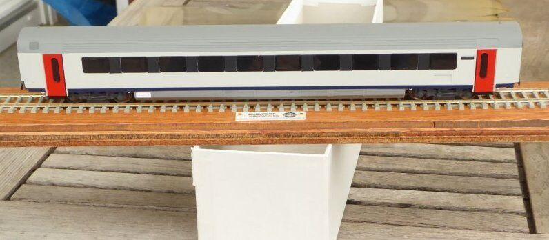 Brimalm h0 Bombardier pubblicitari modello treno rapido carro Intercity i 11 SNCB piccole serie