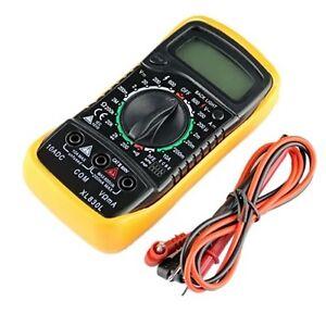 New-Digital-Multimeter-XL830L-Volt-Meter-Ammeter-Ohmmeter-Yellow-Tester-SV