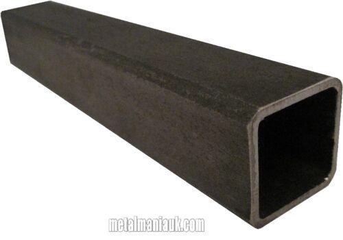 Mild steel box section 40mm x 40mm x 3mm x 500 mm