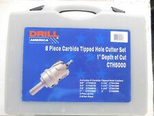 "2/"" Carbide Tipped Hole Cutter CTH2000 1/"" Depth of Cut"